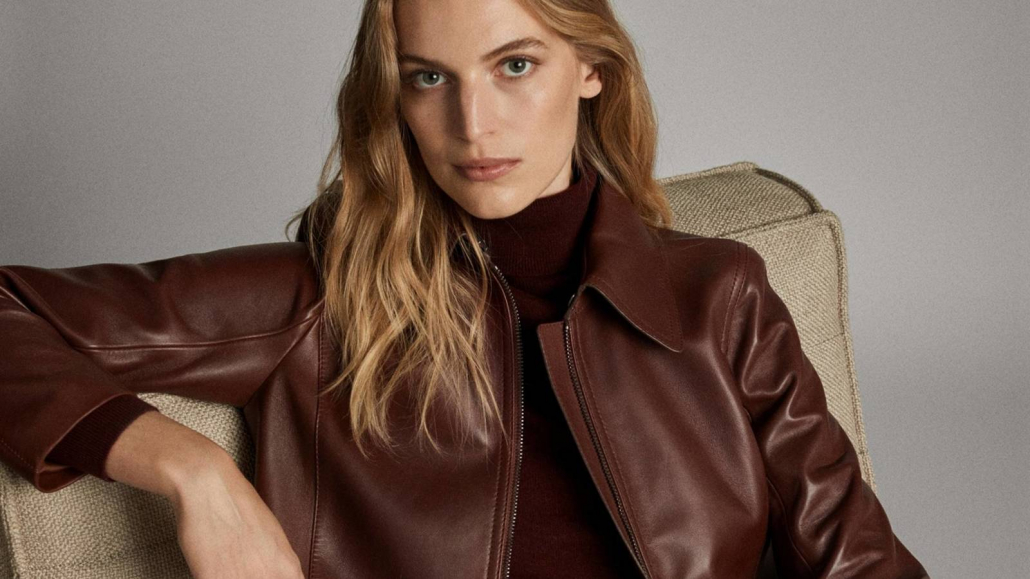 Fashion Trends-Ontdek de wonderen van lederen accessoires en alles wat ze bieden-Vrouw met jasje van leer