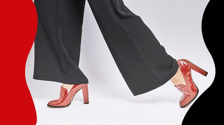 fashion trends - Broeken met wijde pijpen zijn terug en blijven hier