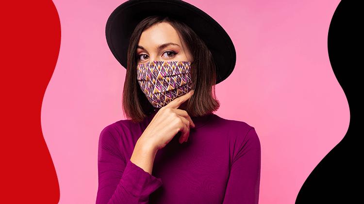 fashion trends - Ontdek de meest modieuze gezichtsmaskers voor 2021