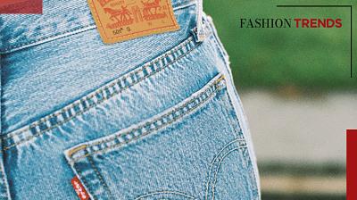 Fashion Trends -Bereik de perfecte look met je favoriete Levi's jeans