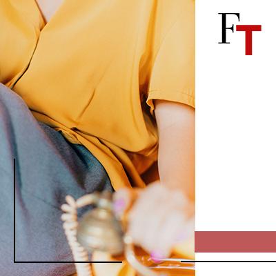 Fashion Trends - Een riskante beslissing, Verlichtend geel en ultiem grijs