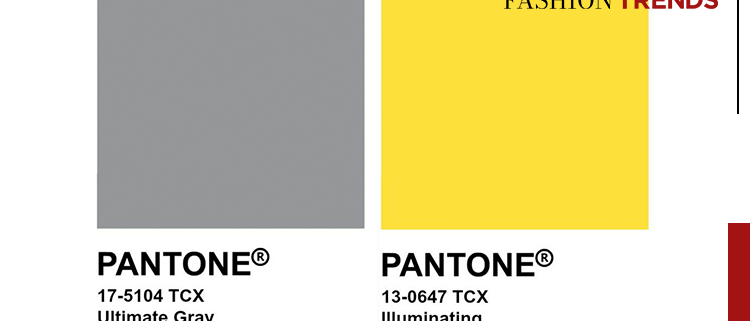 Fashion Trends - Verlichtend geel en ultiem grijs