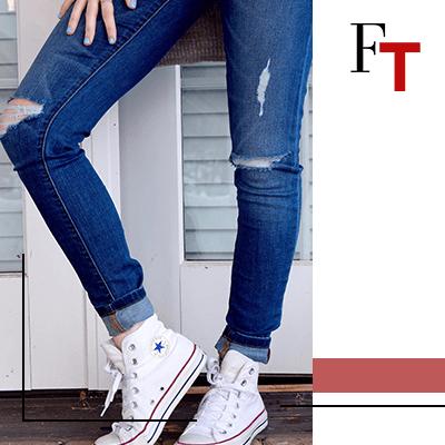 Fashion Trends - Fashion Trends - Match je favoriete paarConverse met je mooiste outfits - Jeans