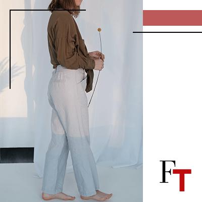Fashion Trends - Linnen of zijden broek