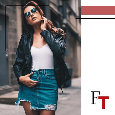 Fashion Trends - Jeans minirok, zelfs met denim