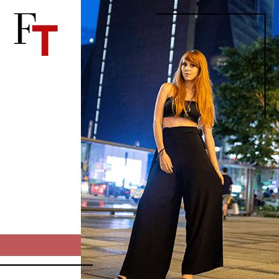 Fashion Trends - Zeg ja tegen afdrukken.